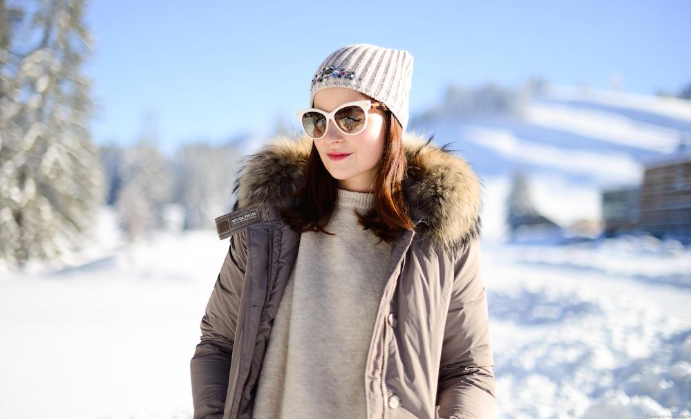 woolrich arctic parker schnee silvester fashionblog münchen
