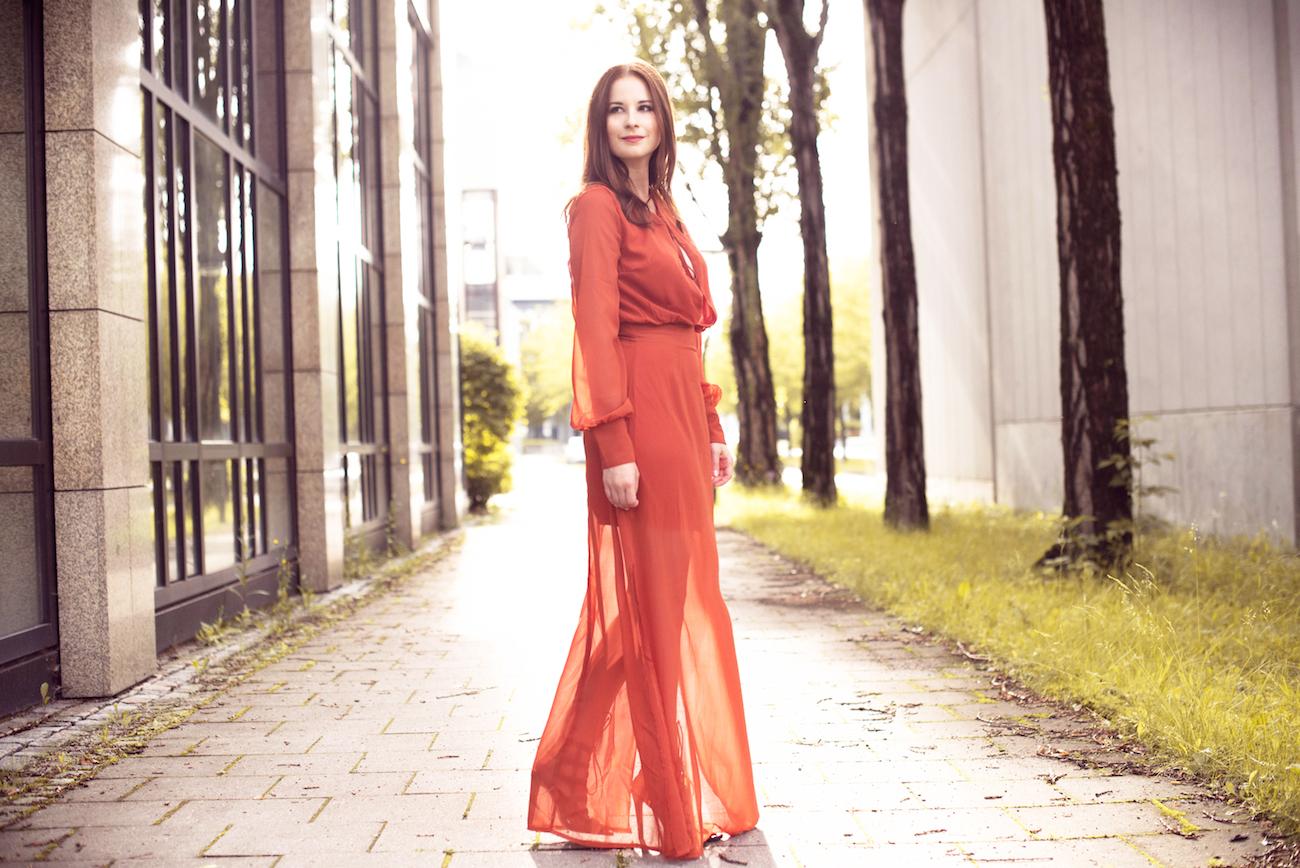 Zara langes kleid