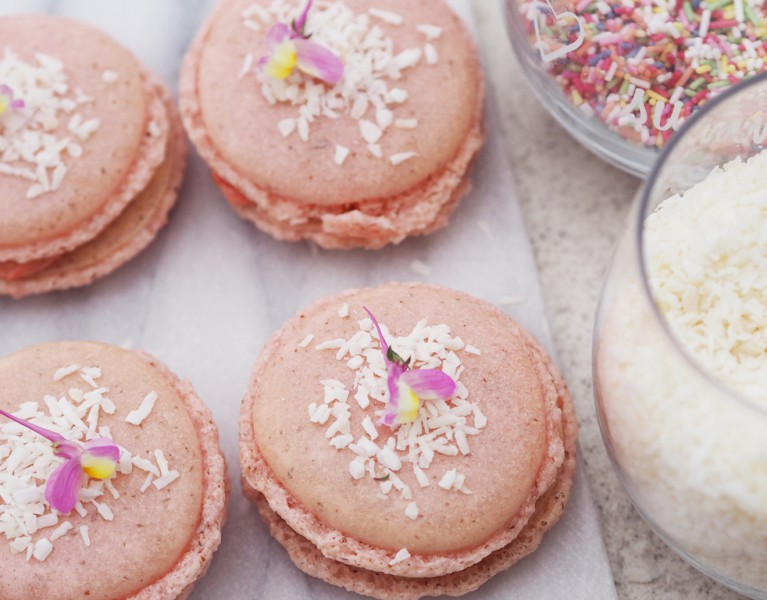 macarons selber machen fashion blog München Rezept