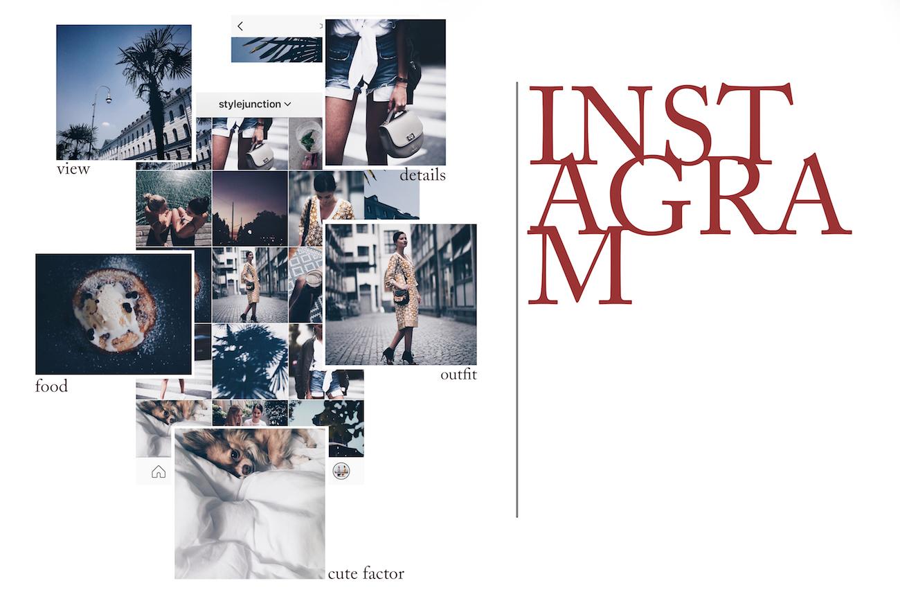 Perspektive Anordnung Instagram bearbeiten schöner Instagram feed