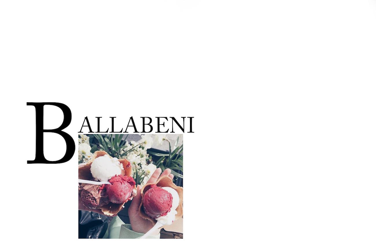 Ballabeni icecream München Erfahrungen lifestyle blog München