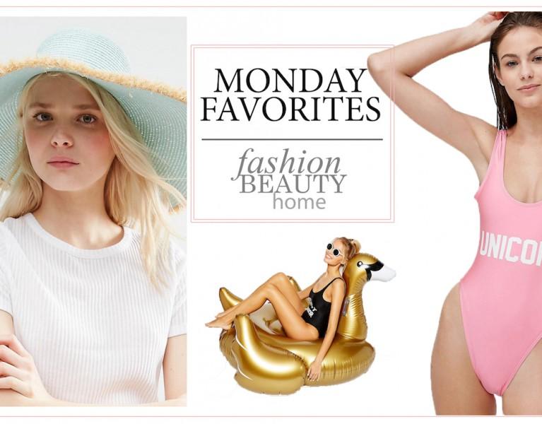beach essentials favorite schwimmtiere flamingo einhorn lifestyle blog münchen