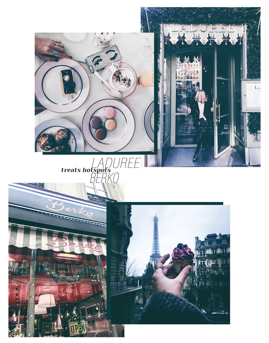 Berko Cupcakes Paris Laduree Frühstück reservieren Macarons Travel Blogger Paris