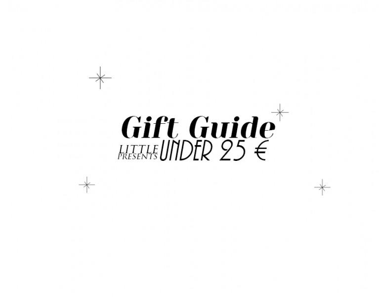 weihnachte Geschenke unter 25 euro lifestyle blog München