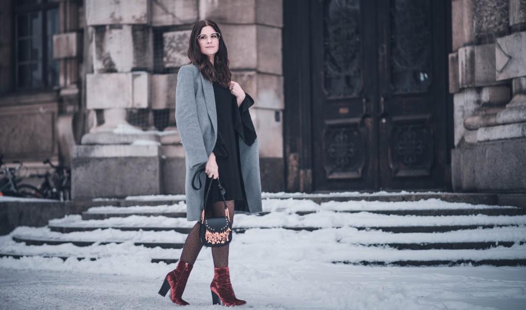 samt Stiefeletten zara chloe hudson michael kors brille gold fashion blog münchen
