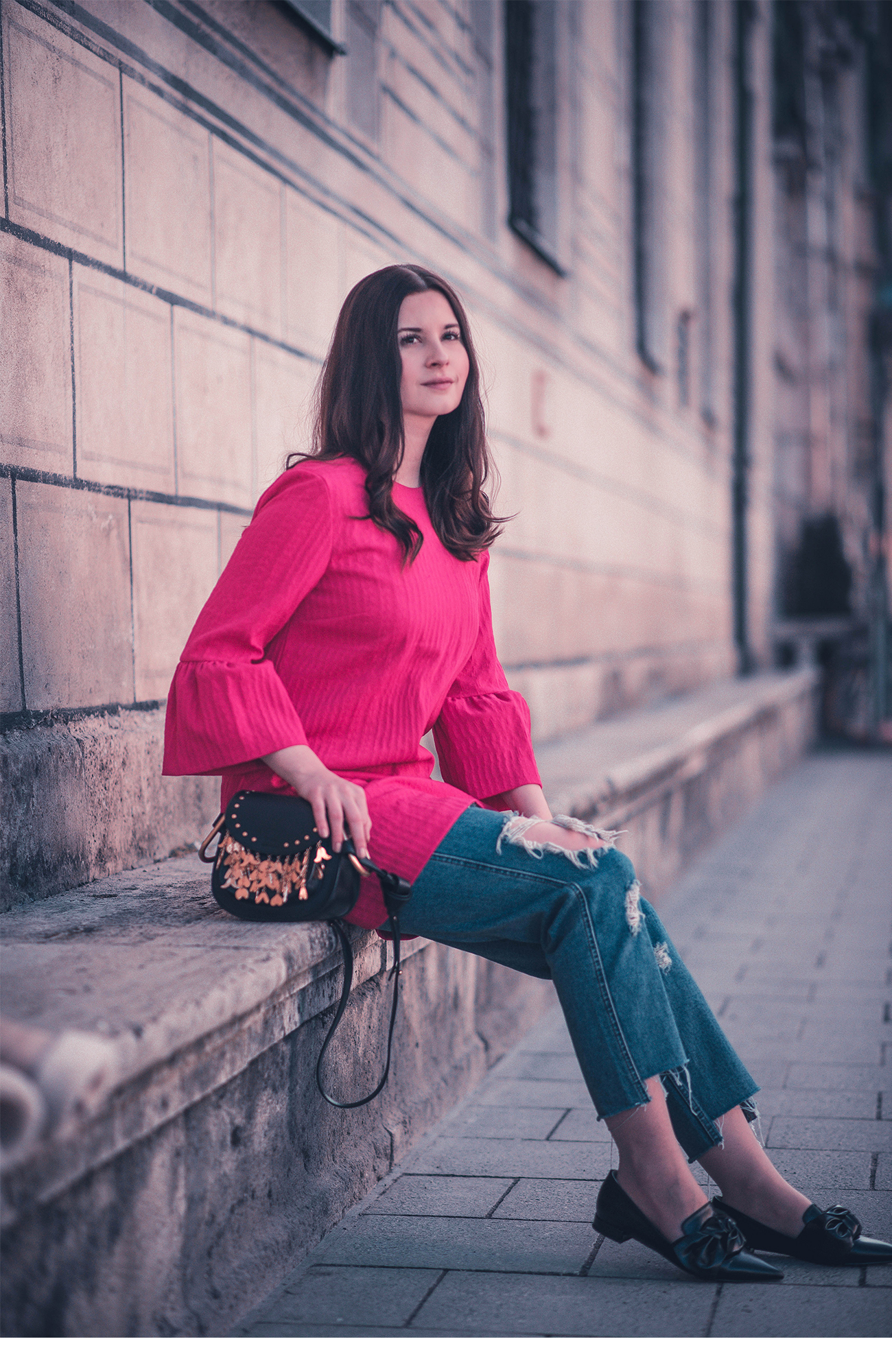 outfit chloe hudson pines klieg frühling fashion blog münchen
