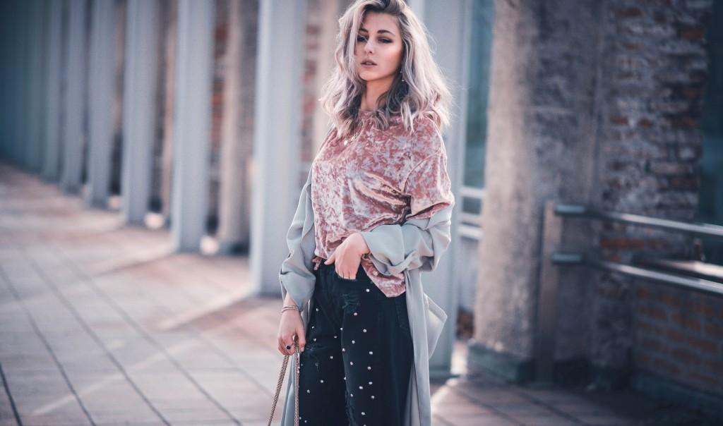 loreal colorista Erfahrungen Pastell outfit kombinieren Valentino g12 fashion blog München