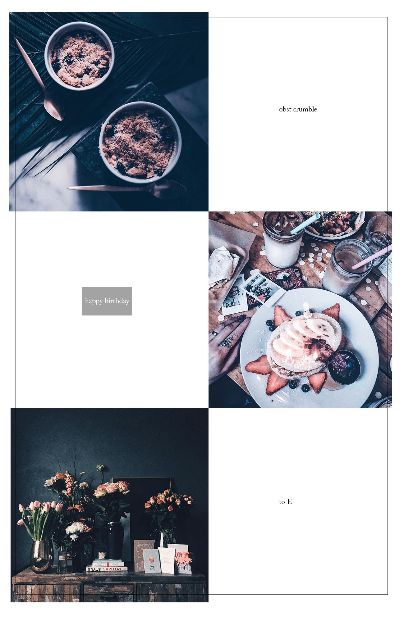 Obst crumble rezept lax eatery münchen erfahrungen geburtstag eileen lifestyle blog münchen