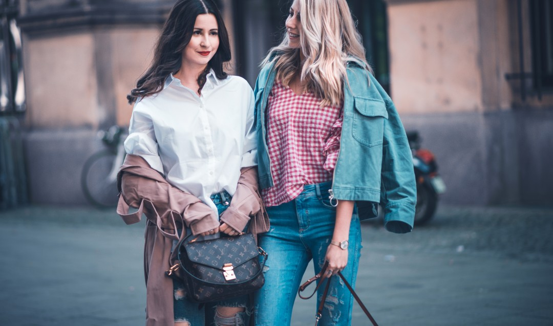 beste Freundinnen Blondine brünette lifestyle blog münchen