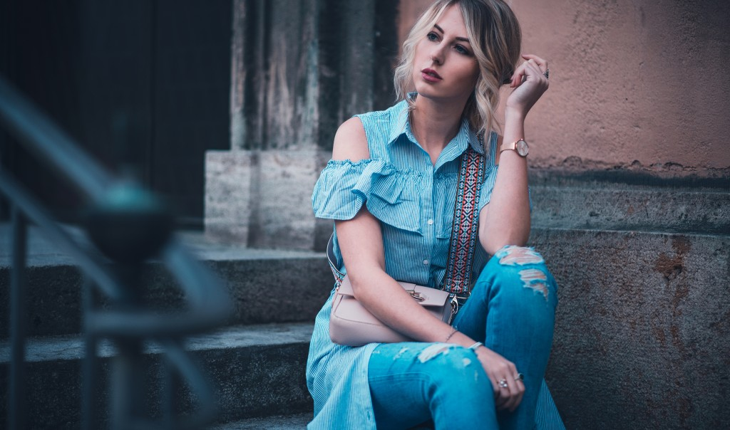 zalando editorial look gestreiftes klieg fashion blog münchen