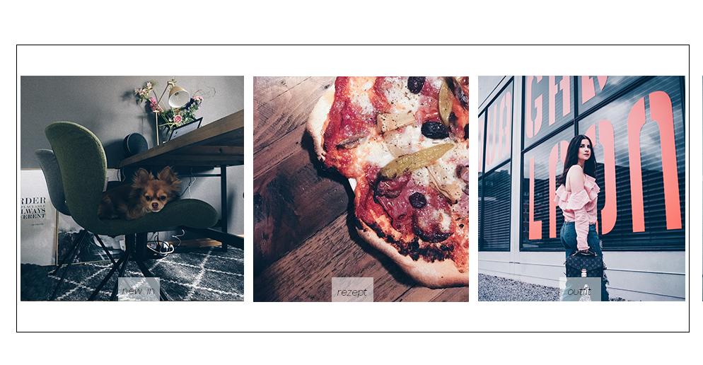 Büro Tisch Inspiration industrial style pizza Rezept lifestyle blog münchen