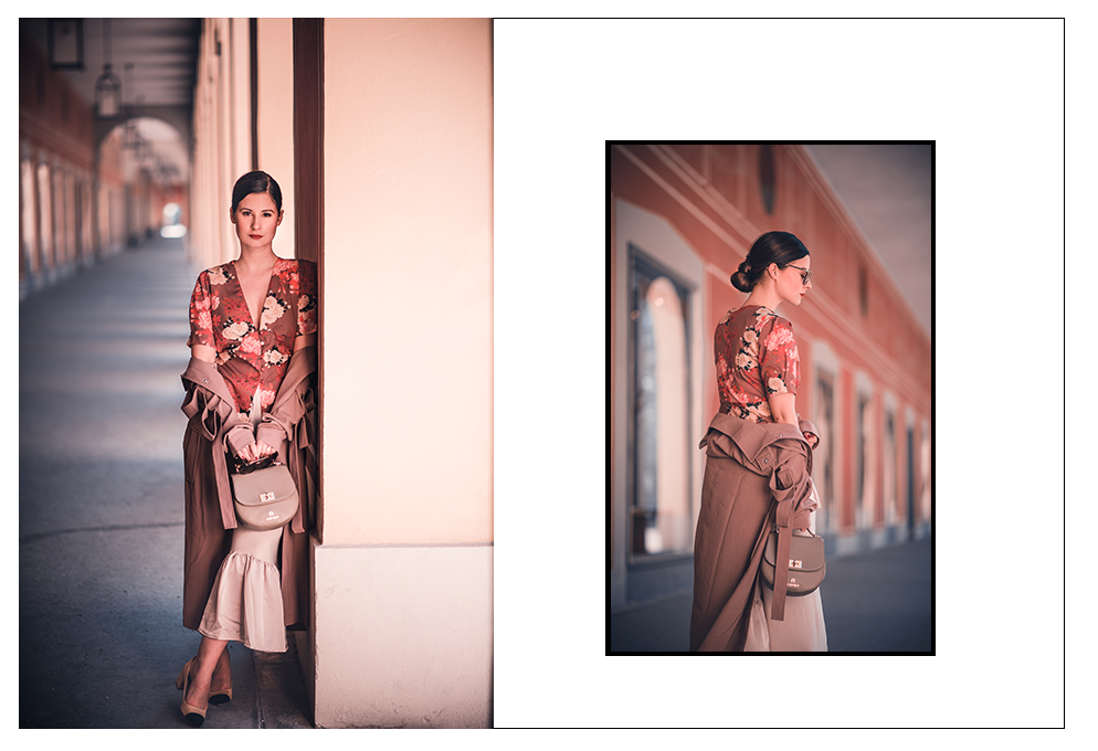 outfit japanisch bluse aigner Tasche asos fashion blog münchen