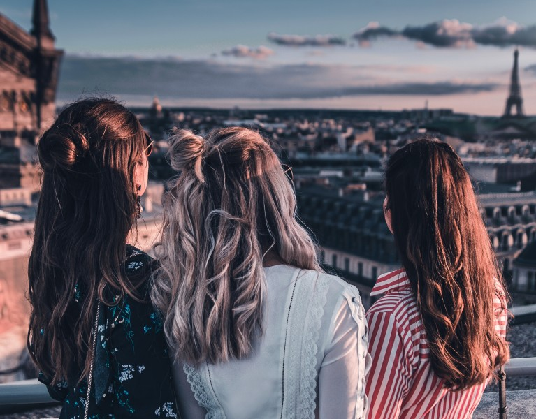 rooftop galeries lafayette paris evian oversize party