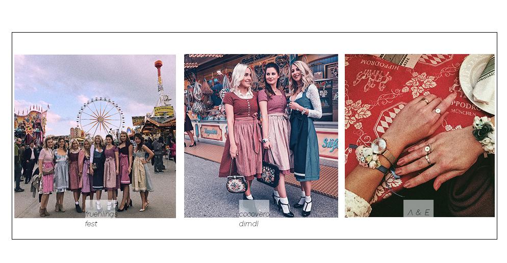 Frühlingsfest München Erfahrungen cocovero trachten schönes Dirndl  fashion blogger