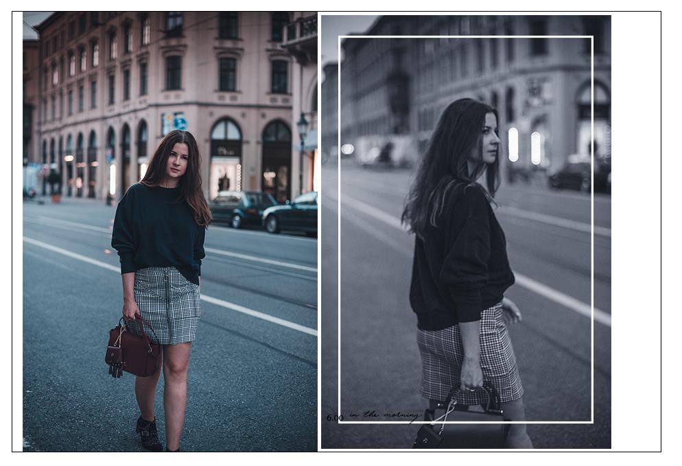 aigner Lexi bag rot kombinieren fashion blog münchen