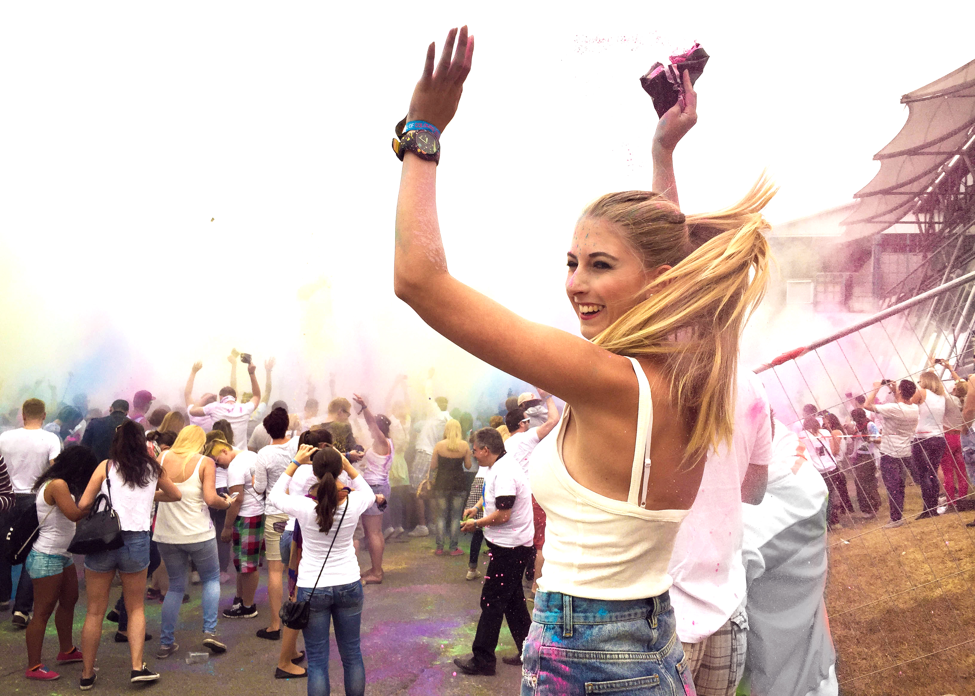 holi festival of colors münchen 2015 Erfahrungen puma xl splash ihr Damen fashionblog