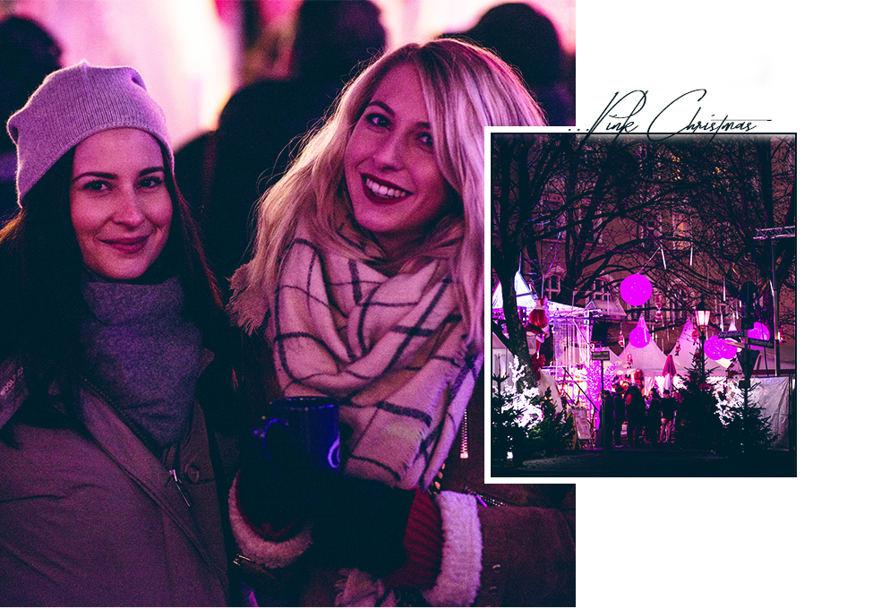 pink christmas market münchen stephansplatz lifestyle blog