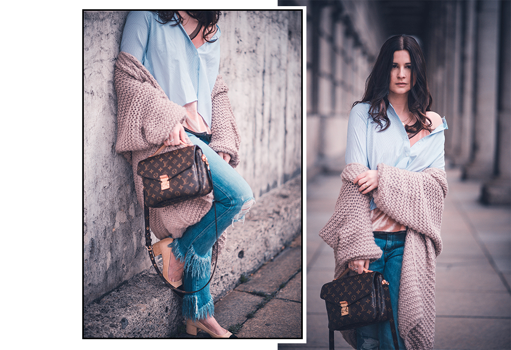 layering outfit pochette metis pull bear fashion blog münchen