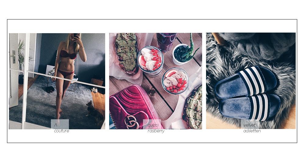 neue Produkte Bikini selbst nähen, samt adiletten gucci marmont velvet raspberry