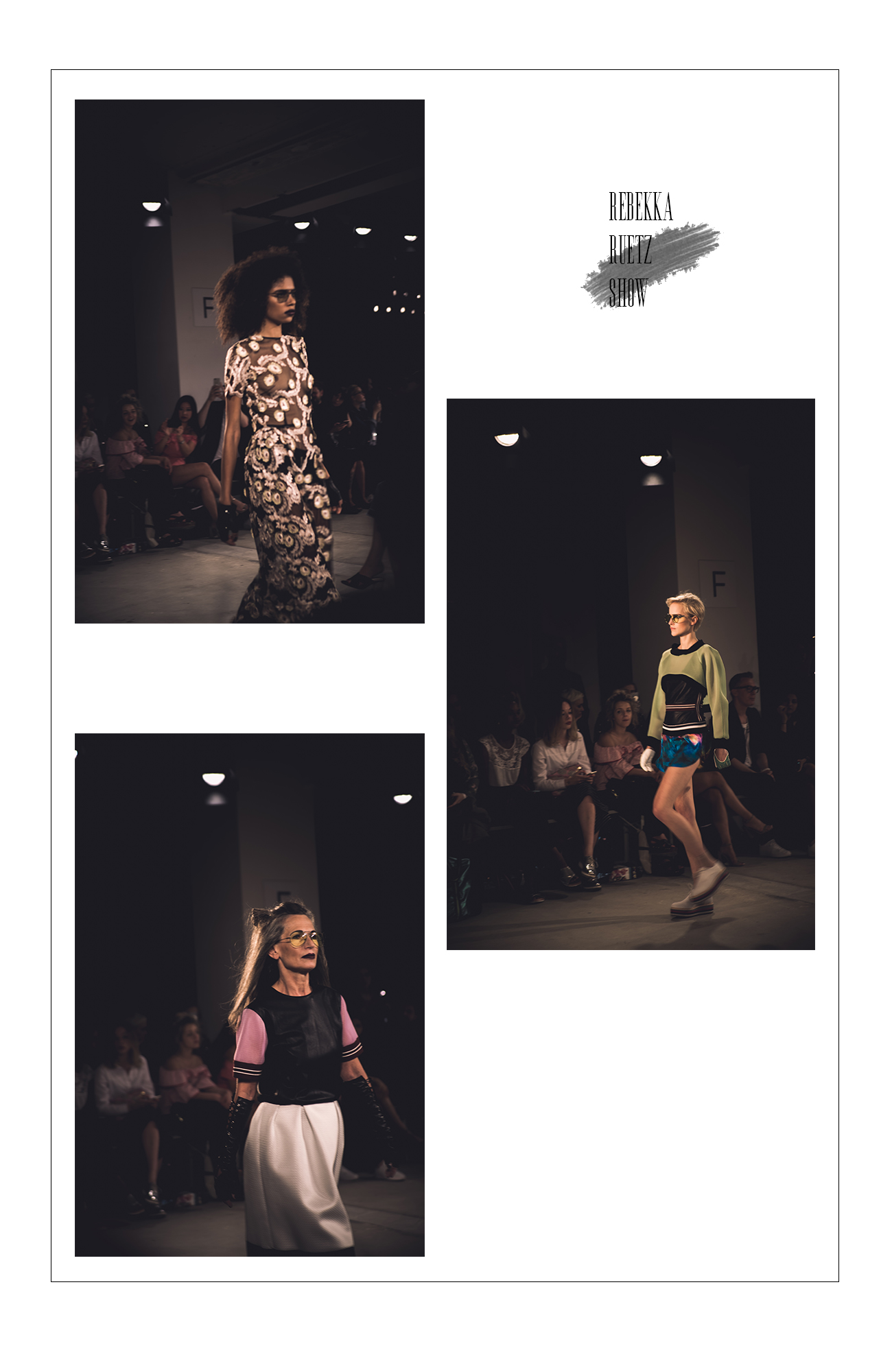 Rebekka ruetz fashion show berlin erfahrungen lifestyle blog münchen